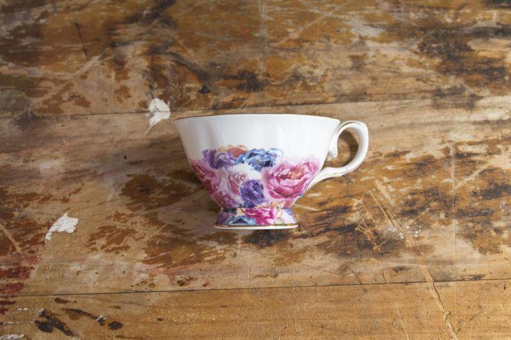 Multi Blossom Teacup Set