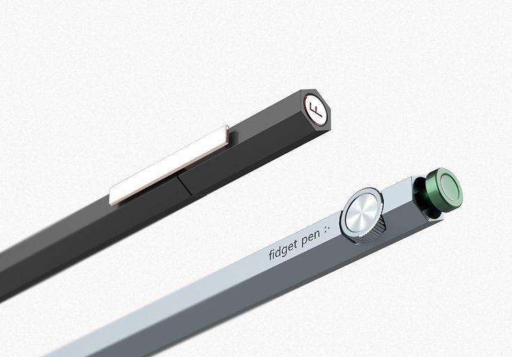 Forget the Fidget Spinner, Meet the Fidget Pen | Yanko Design