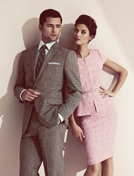 Power couple! He knows he's the Bee's Knees and she knows she's Snatched, Fierce and Fabulous