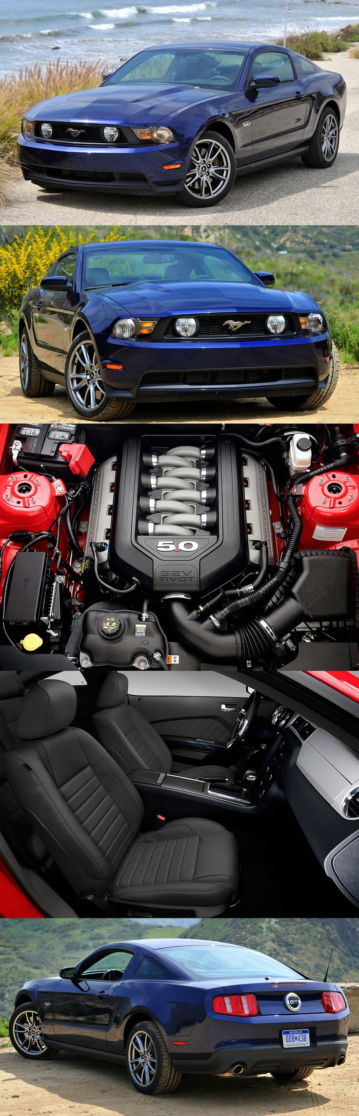The new ford mustang 5 0 gt is one hell of an engine