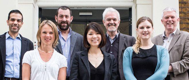 The London School of English Marketing team