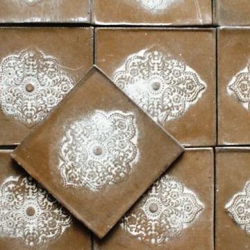 na ścianę-dekory orientalna czekolada