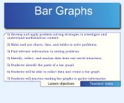 Math -- Bar graphs.  Analyze data, know the parts of a graph, practice making a bar graph.  4th grade.  @SMARTexchange