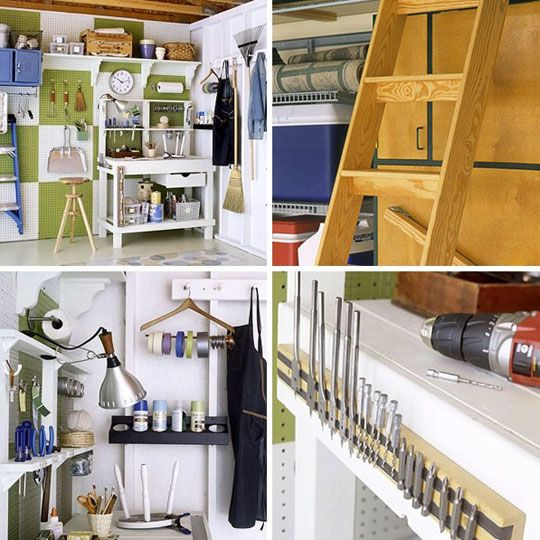 133 best images about cheap home organization ideas on for Apartment garage storage