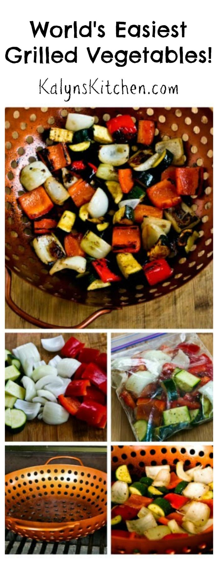 World's Easiest Grilled Vegetables (How to Cook Vegetables on the ...