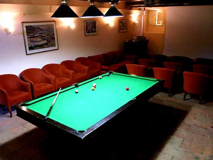 play pool..