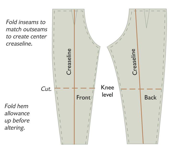 Pants Cutting Pattern Google Search Marvellous