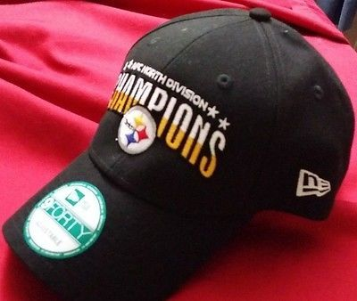 Pittsburgh Steelers 2016 AFC Division Champions Hat New Era Superbowl 51 Tickets