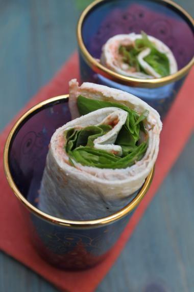 Recept voor wrap met chutney van tomaat & kalkoen | njam!