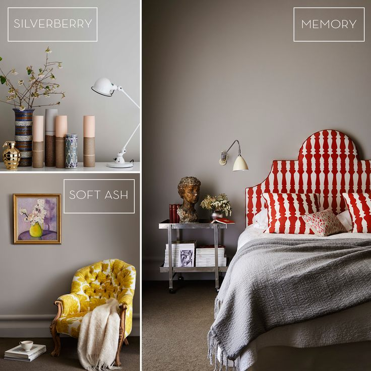 May Haymes Hues: Over time grey has featured as one of the most predominant colours trends. Pair Haymes Silverberry, Memory and Soft Ash with unique tones and fun furnishings to make this trend your own.