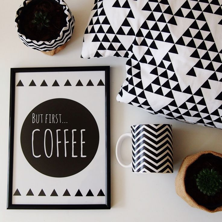 Our coffee print flat lay thanks to Jazminbell design.