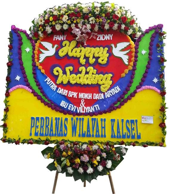 Tips Memilih Bunga Ucapan Pernikahan