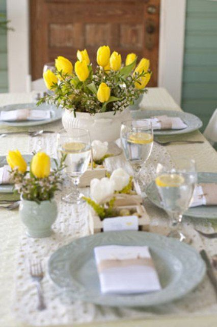 The 214 best Easter Table Decoration Ideas images on Pinterest ...