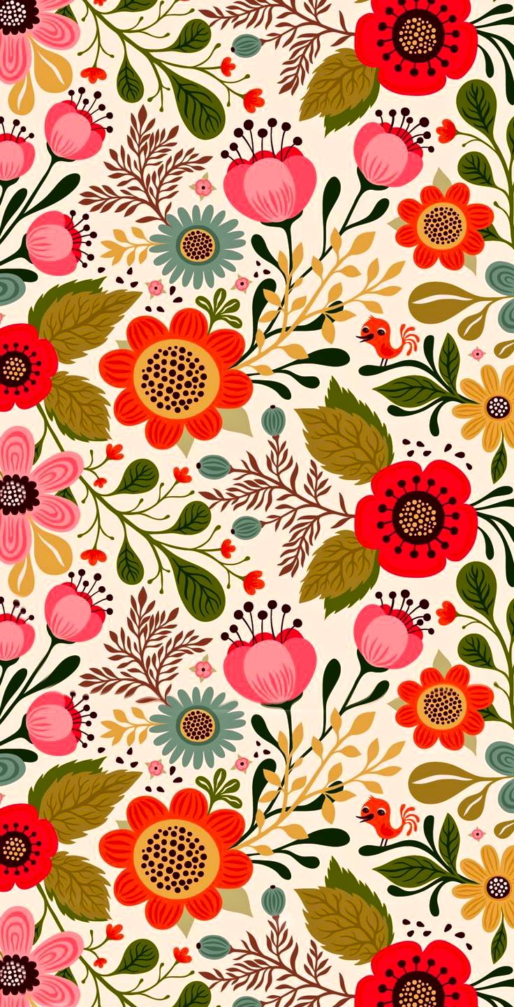 25 best ideas about flower pattern design on pinterest