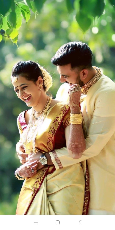 Pin by Bubbly on Kerala wedding Wedding couple poses