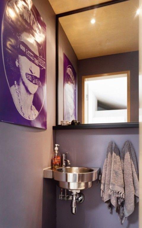 Art, Toiletroom, Apartment In Traditional Scandinavian Colors | DigsDigs