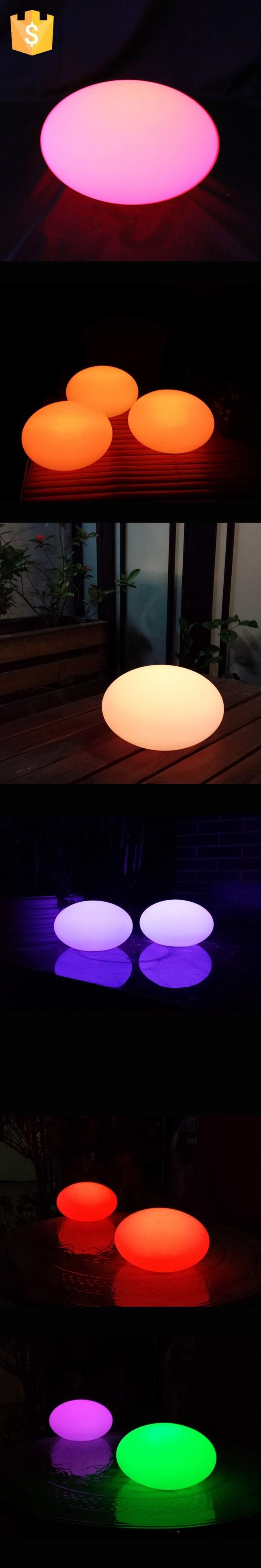 2017 New Arrival D17cm D31cm D35cm LED Solar Lamp Stone Ball Solar Spot Lights Outdoor Christmas Decoration for Event Party 1pc