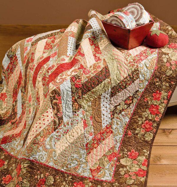 1000 Ideas About Jellyroll Quilt Patterns On Pinterest