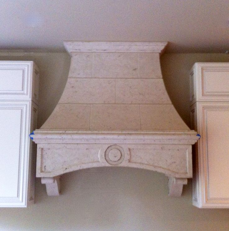 Cast Stone Range Hoods | Limestone Kitchen Hood | Custom ...