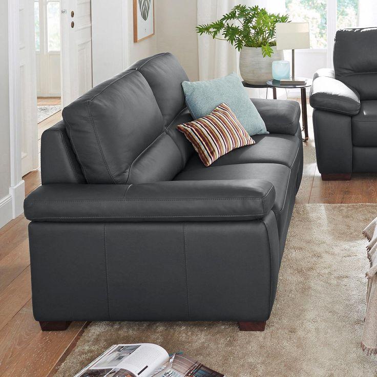 Calia Italia 3 Sitzer Schwarz Gaia FSCR Zertifiziert Jetzt Bestellen Unter Moebelladendirektde Wohnzimmer Sofas 2 Und Uid