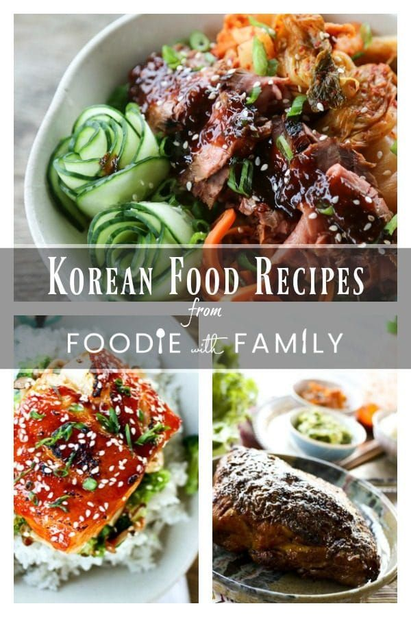 Find a multitude of Korean Food Recipes -both traditional and inspired by traditional flavours- and where to get ingredients on Foodie with Family.