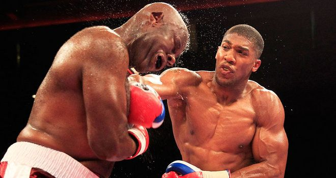 Matt Skelton admits Anthony Joshua cannot be compared to Audley Harrison