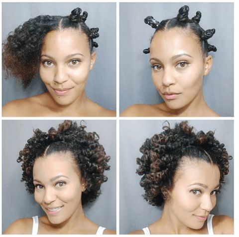Awesome Bantu Knot Out IG:@stasialovescurls  ‪#‎naturalhairmag‬