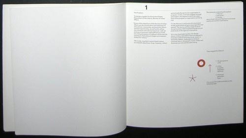 1968 Paul Rand Bureau of Indian Affairs  Trade Mark Design Presentation Book