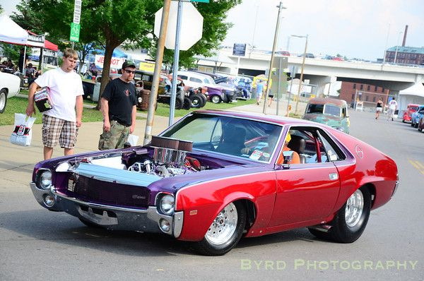 Pro Street Cars | ... that I secretly like Pro Street cars, and this AMX is a fine example