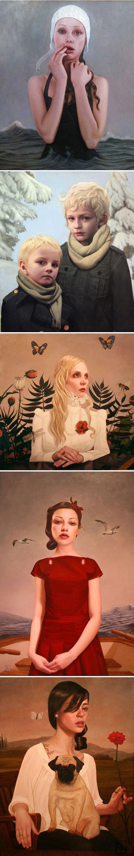 Kris Lewis: Lewis Awesome, Artists, Art Paintings, Odd Paintings, Canvas Art, Lifeboat, Lewis Paintings, Portraits, Kris Lewis