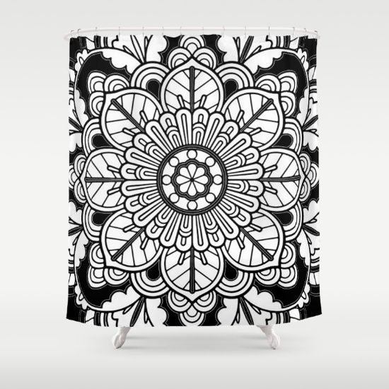 #Society6designers #Society6max #society6 #Society6RT #society6home #love  #totebgas https://society6.com/product/my-top-flower-tv4_shower-curtain?curator=azima