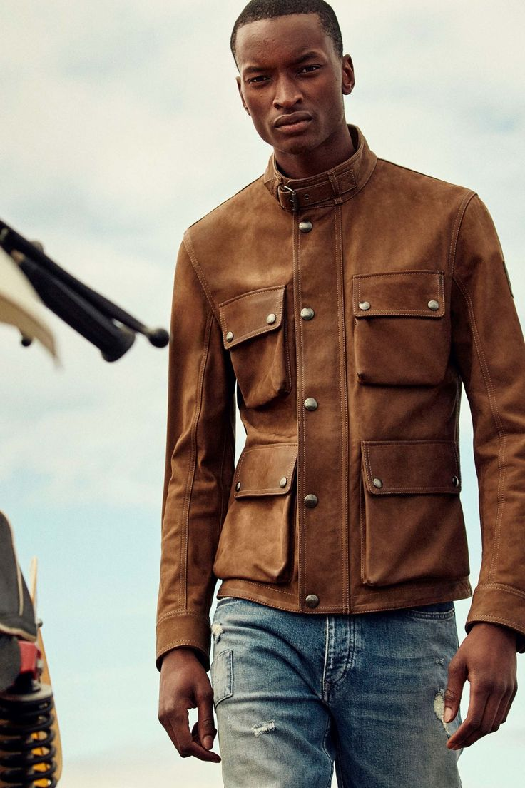 Belstaff Spring 2018 Menswear Collection Photos - Vogue
