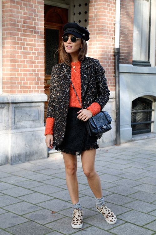 Let's dissect how blogger Lizzy Van Der Ligt wears Leopard Print and Flats a zillion times and constantly looks amazing
