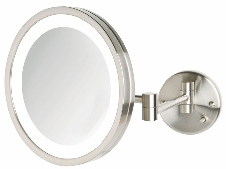 Wall Mounted Cosmetic Mirror With Light