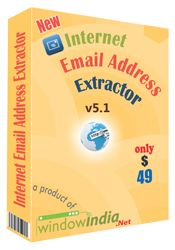 Online Email Extractor is best email extractor software which is highly capable of finding and extracting email addresses from websites and URLs over the internet. It is one of the most popular email extractor software which freely updates search engines online. For more detail: http://www.windowindia.net/internet-email-address-extractor.html