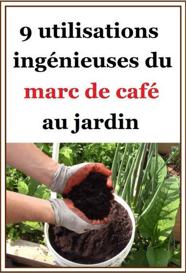 jardinage 9 utilisations ing nieuses du marc de caf au. Black Bedroom Furniture Sets. Home Design Ideas