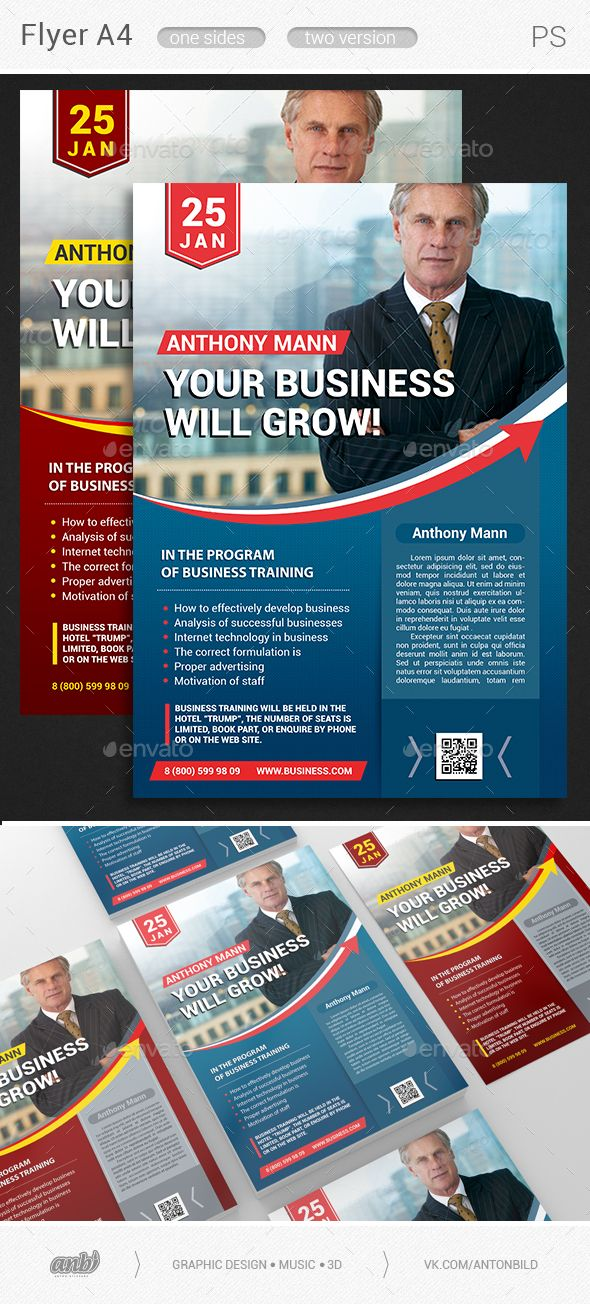 Your #Business Will Grow - Corporate Flyers