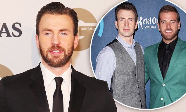 Actor Chris Evans speaks about supporting his gay brother