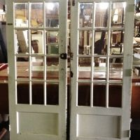 French Doors with beveled glass $330 LOVE THEM!!