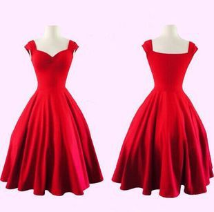 Red vintage Dress                                                                                                                                                     More