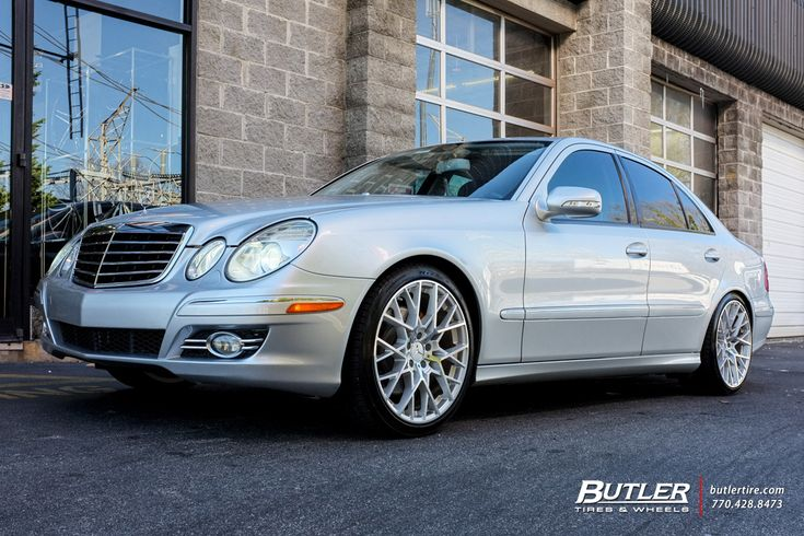 Mercedes E-Class with 19in TSW Sebring Wheels by #butlertire
