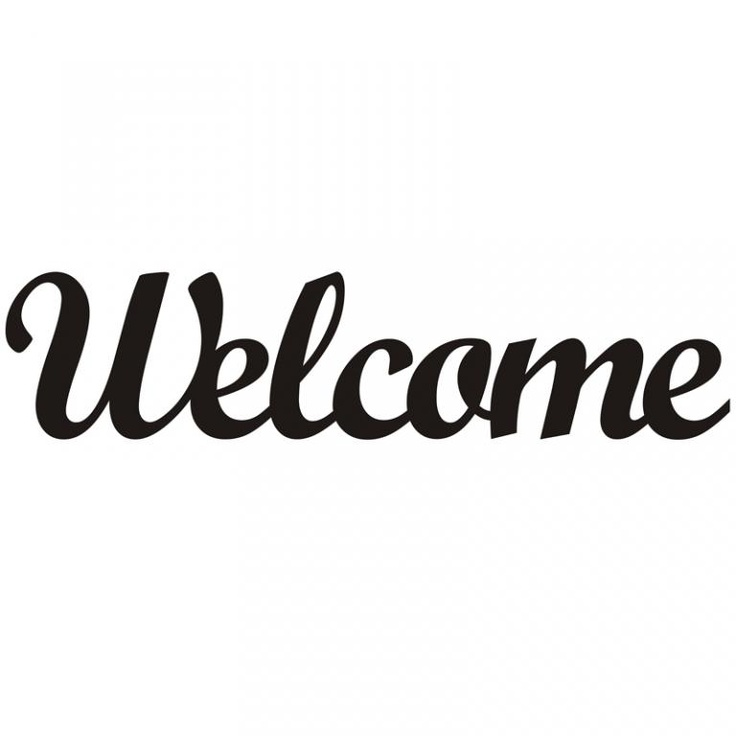 Dekor ścienny Welcome - DECORTIS  http://allegro.pl/dekor-scienny-welcome-decortis-i3062369699.html