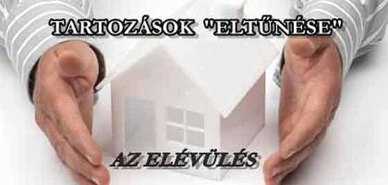 TARTOZÁSOK ELTŰNÉSE - AZ ELÉVÜLÉS.