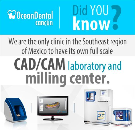 Find out why you benefit from a dentist who uses CAD/CAM technology. oceandentalcancun.com