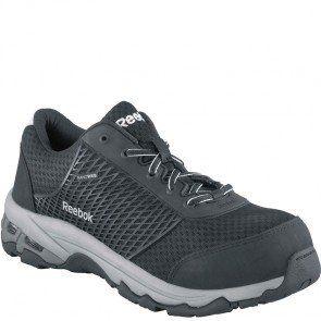 RB4625 Reebok Men's Heckler Safety Shoes - Grey www.bootbay.com