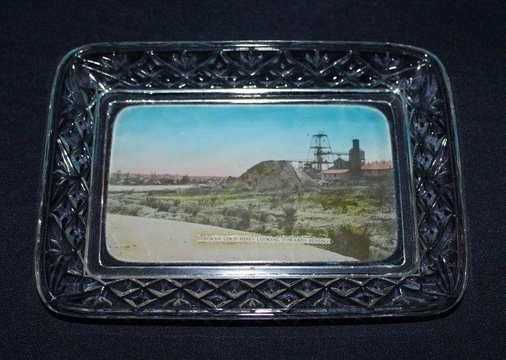 Vintage Australian CCG Souvenir View Ware Featuring Deborah Gold Mines BENDIGO