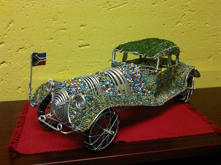 Cars for an office or study create an arty feel. Found at wirecraft.co.za, Ref #JoziRoadshops