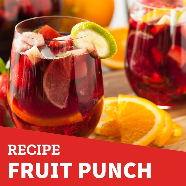 Enjoy your José Olé Nachos with this delicious fruit punch! 👌  Ingredients:  4 cups of water  1 1/2 cups of grape juice  1 1/2 cups of apple juice  1 1/2 cups of orange juice  Your favorite fruits (frozen)   This recipe serves 8-10 people and all you have to do is mix all the liquids in a large pitcher, then add the frozen fruit and storage in the freezer until ready to serve.