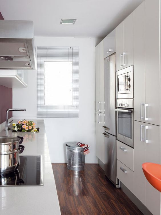 decoracin de cocinas alargadas - Cocinas Alargadas