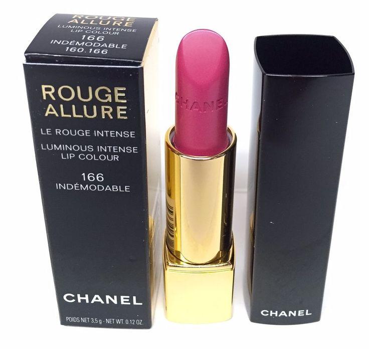 Chanel Rouge Allure Lipstick Luminous Intense Lip Colour 166 Indemodable 3.5g.34+fr